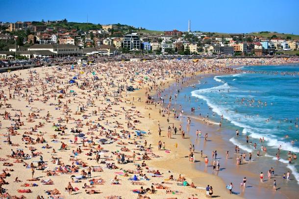 Bondi Beach. Source: Wikimedia Commons