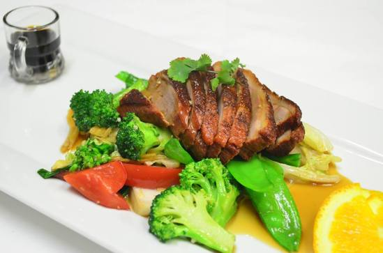 The signature dish,Roasted duck. Photo: Nanaphat Sritakoonrut