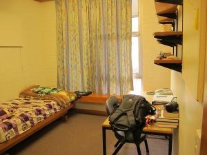 Abdul's dormitory on campus. Photo by Nannaphat Sritakoonrut