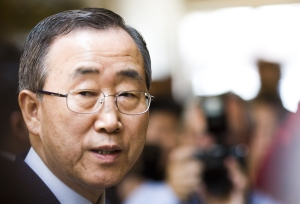 A spokesperson for UN Secretary-General Ban Ki-moon has spoken with the head of the chemical weapons team. Source: Thomas Hawk via Flickr