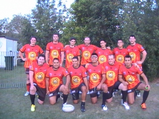 Latin Heat Team, after the game on Saturday in Mitchelton