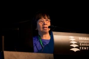 Evelyn Mae Tecson-Mendoza at IHC 2014. Photo: Kasun Ubayasiri