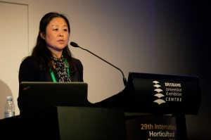 Judy Zhu at IHC 2014. Photo: Kasun Ubayasiri
