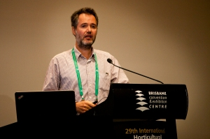 Jaime Prohens at IHC 2014. Photo: Kasun Ubayasiri