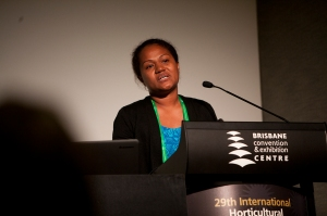 Ana Buli at IHC 2014. Photo: Kasun Ubayasiri