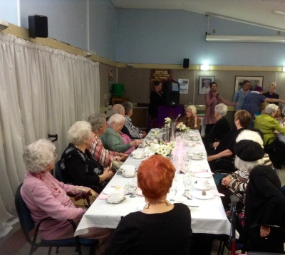SOURCE: Ainslie Mulholland Nonagenarian members of The Metropolitan Senior Citizens' Centre gathered to celebrate Seniors Week.
