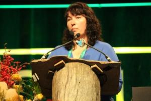 Ruth Mann at IHC2014. Photo: Tayla Swales