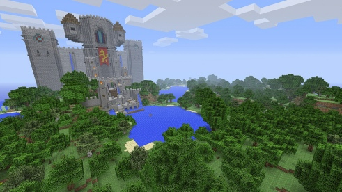 Players await the next-gen console Minecraft experience. Photo: PlayStation Europe