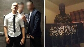 18-year-old Haider concerned authorities with the change of his Facebook profile picture. Photo: 9news