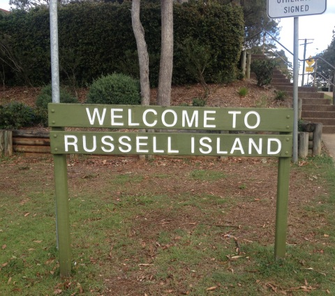 Russell Island, SMBI's largest. Photo: Ranui Harmer