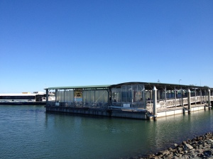 Updated Weinam Creek ferry terminal