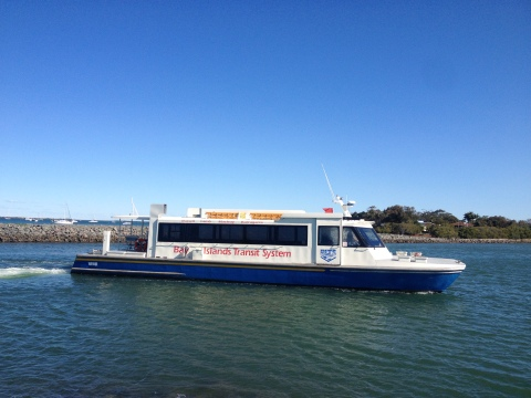 Passenger ferries too small to accommodate growing numbers. Photo: Ranui Harmer