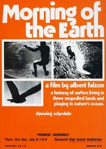 Morning of the Earth Handbill (source: encyclopaedia of surfing)