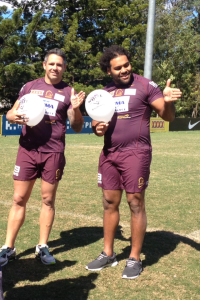 Thaiday will head to Melbourne tomorrow as a supporter. Photo: Ranui