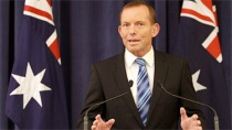 Abbot's dual citizenship could mean the end of his run in office     Source: Google