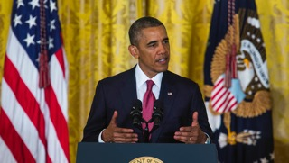 President Obama makes a public address about counter-terrorism strategies. Photo: CBN News