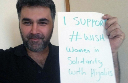 Australian men are also showing their support for WISH. Photo: Facebook