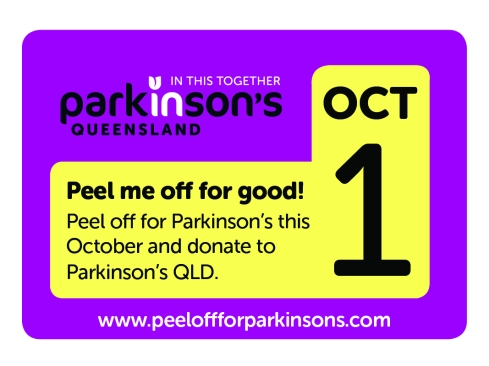 Every year, 10,950 Australians are diagnosed equals to 30 people every day Photo: Peel off for Parkinson website