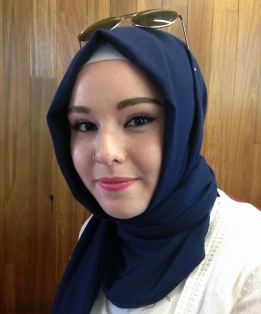 Sümeyye Uysal says she often attracts stares for wearing the hijab. Photo: Audrey Courty