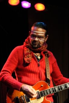 Indigenous activist and musician, Bunna Lawrie (source: LeAnne DeSouza)
