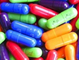 Ecstasy in capsule form. Photo: commons.wikimedia.org