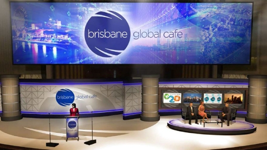 An expected idea of the Brisbane Global Cafe (source: Visit Brisbane)