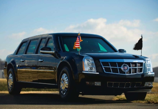 "PHOTO: Presidential Limousine ""Cadillac One"". (Public domain)."