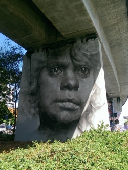 Artwork Credit: Guido Van Helten | Photo Credit: Rhea Anthony