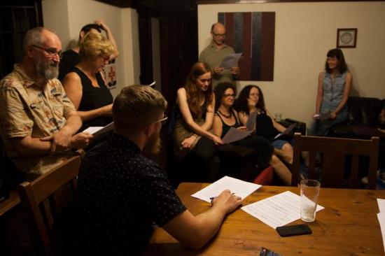 The Complaints Choir rehearsal. Photo by: Kimberley McCosker