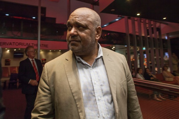 Noel Pearson arriving at the Sir Paul Hasluck Foundation annual lecture last night. Photo: Kasun Ubayasiri
