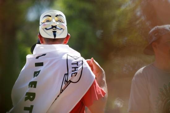 The Protester  Photo Dan Carson