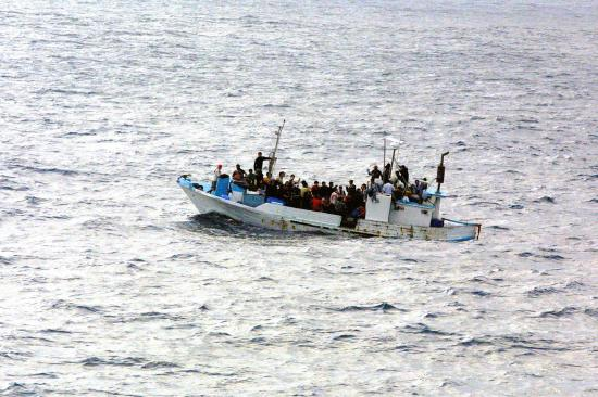 Asylum seeker vessel. Photo: Wikipedia