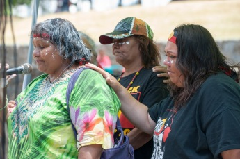 Aunty Rhonda (left). Photo: Cory Wright
