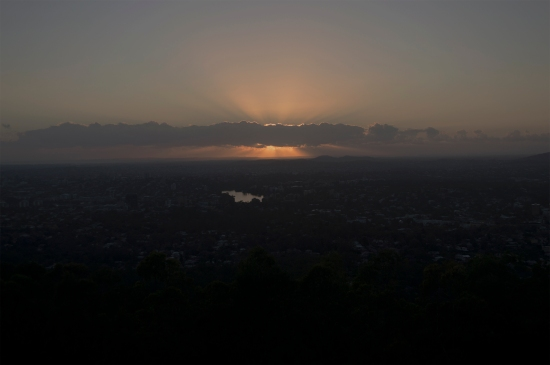 Sunrise 11 November 2014. Picture: Janelsa Ouma The Source News.