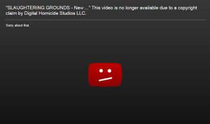 Digital Homicide's copyright claim has removed the video due to 'unlawful use of assets' Photo: Youtube