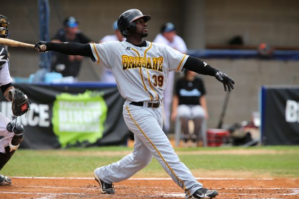 CJ Beatty hits a home run Source: Scott Powick / SMP Images