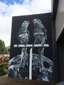 Claire Matthews aka Fuzeillear street art