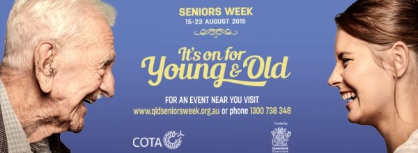 Seniors Week addresses social isolation. Source: cotaqld.org.au