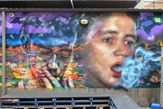 Gus Eagleton street art
