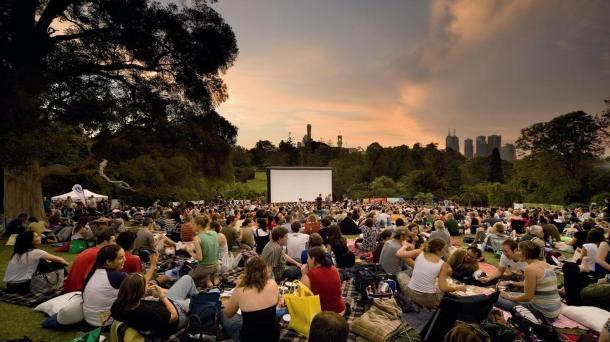 Outdoor cinema Source: John Gollings