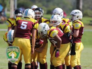 The Queensland Sun Devils women compete in the 2014 Australian Gridiron League. This year's state league will further aid state team development. Source: Chris Guscott Media