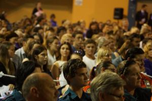 Close to 1000 mourners filled the Gatton Sports Centre to remember Jayde