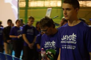 Jayde's 'Maccas family'; a purple army of support