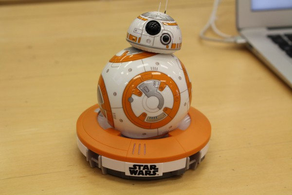 Star Wars droid, BB-8 has voice recognition. Source: Cassandra Mulhern