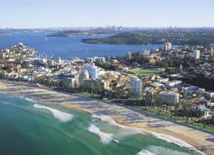 Manly beach, a much sought after location for Sydney residents. Source: Facebook