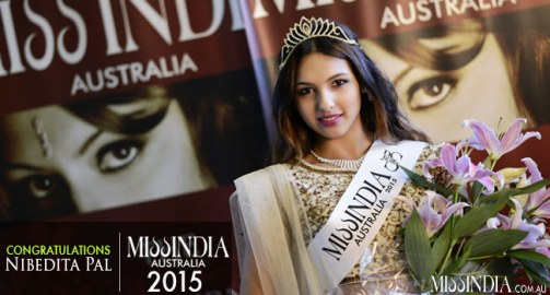 Nibedita Pal has been named Miss India Australia 2015 by Raj Suri