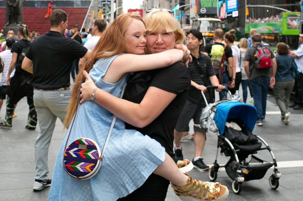 Madeline with mum, Rosanne in New York. Source: EverMaya/Tammy Swales Studio.
