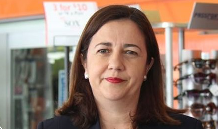 Premier Palaszczuk has backed down on a promise to fluoridate QLD's water Source: Spencer Chamberlain