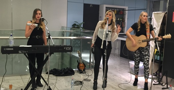 Week 6 wintergreen story- girl band performing at the event