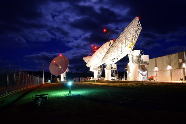 "Ground stations play an integral role in NBNco's ""Sky Muster"" satellite broadband plan Source: Supplied"